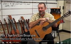 Charles Van Deursen's 2015 Candler County Teacher of the Year introduction video. www.InTuneWithYou.com