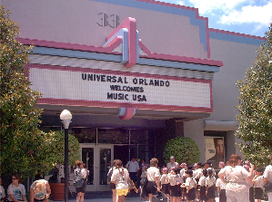 The Store Front to Unversal Recording Studio 33 in Orlando Florida, InTuneWithYou.com