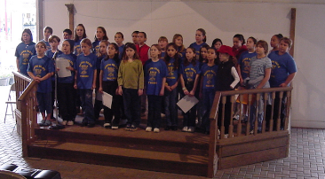 The South Olive Elementary School Tiger Chorus Performing at the South Florida Fair in 2002, InTuneWithYou.com