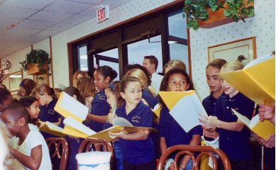 The South Olive Elementary School Tiger Chorus Performing at a Nursing Home, InTuneWithYou.com